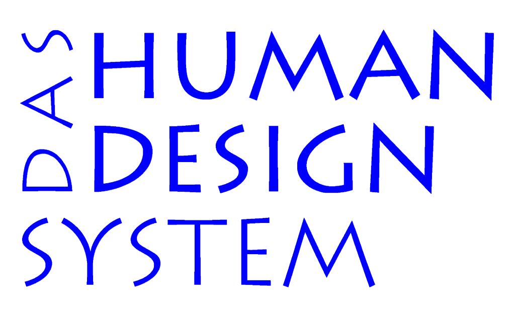 Human Design System Rave Chart
